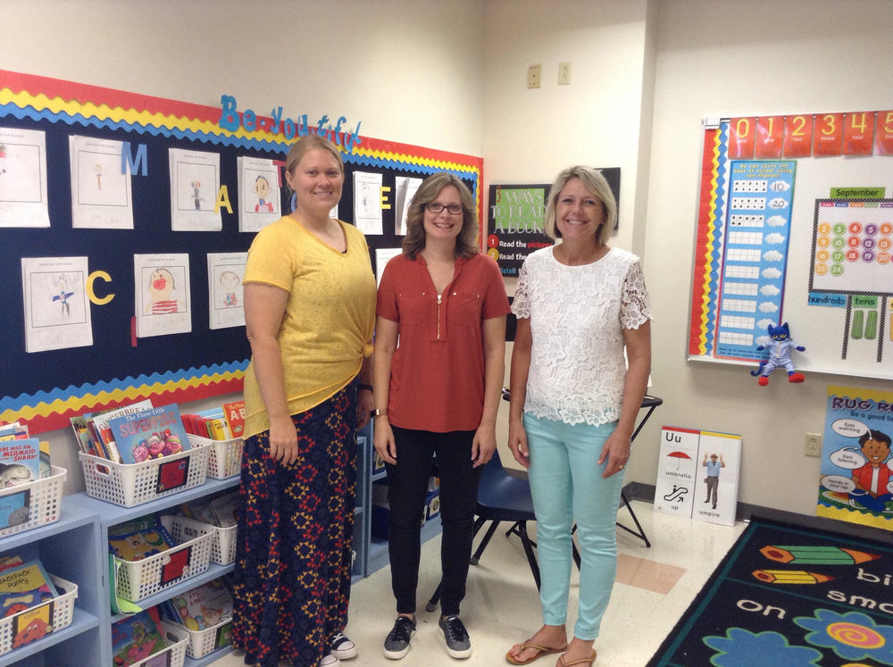 Welcome New Teachers in the K-2 Wing