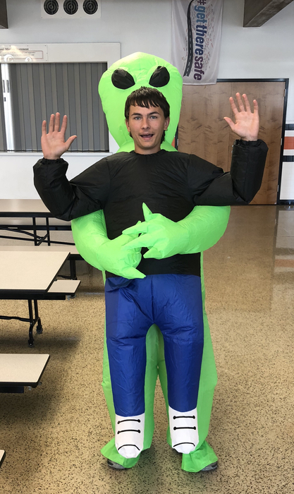 Class Theme day winner - Senior Trysten Allen