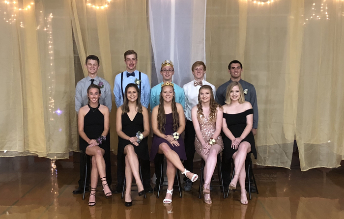2018 Senior Homecoming Court!