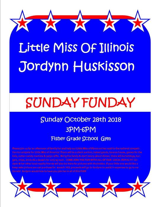 Flyer for Sunday Funday, Oct. 28