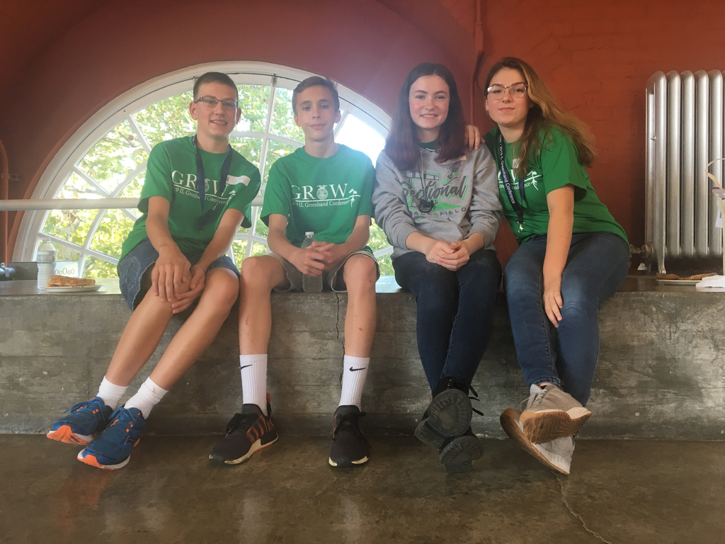 Dylan, Joel, Cassandra, Emma at Greenhand Conference!