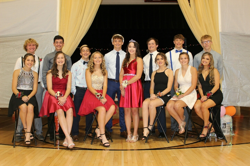 2019 Hoco Court and Attendants